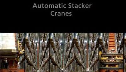 Case studies Automatic Trilateral Stacker Cranes: Disalfarm
