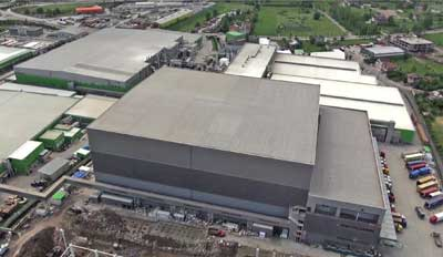 Mecalux builds one of the highest logistic centres in Europe