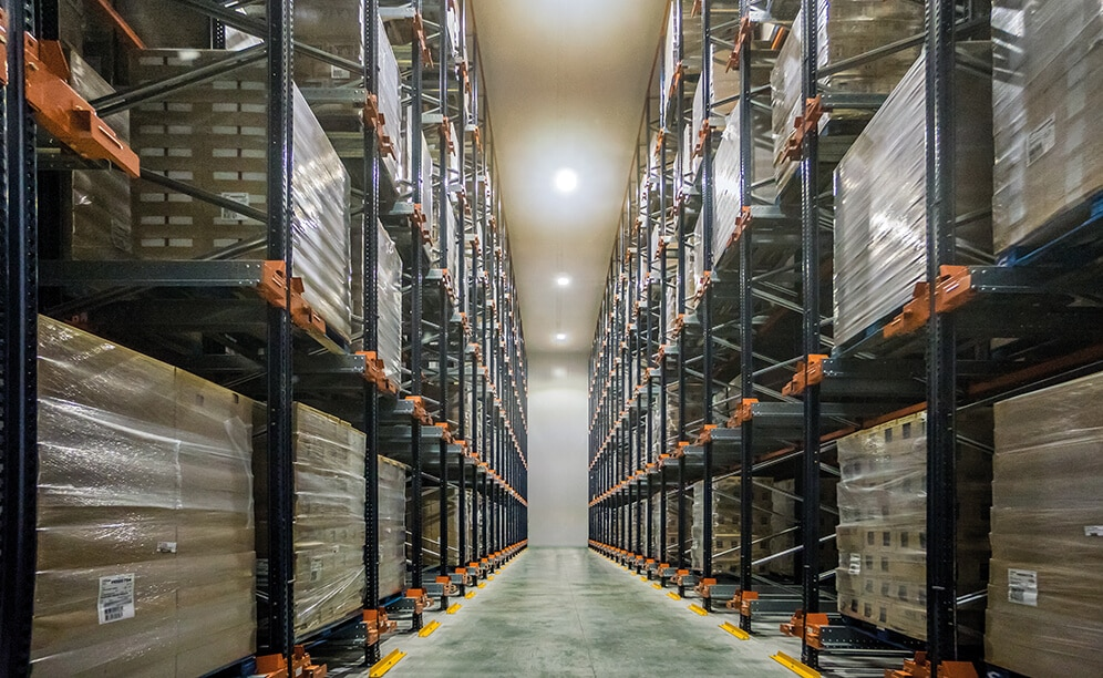 Six high-tech frozen storage chambers at Alfrisan