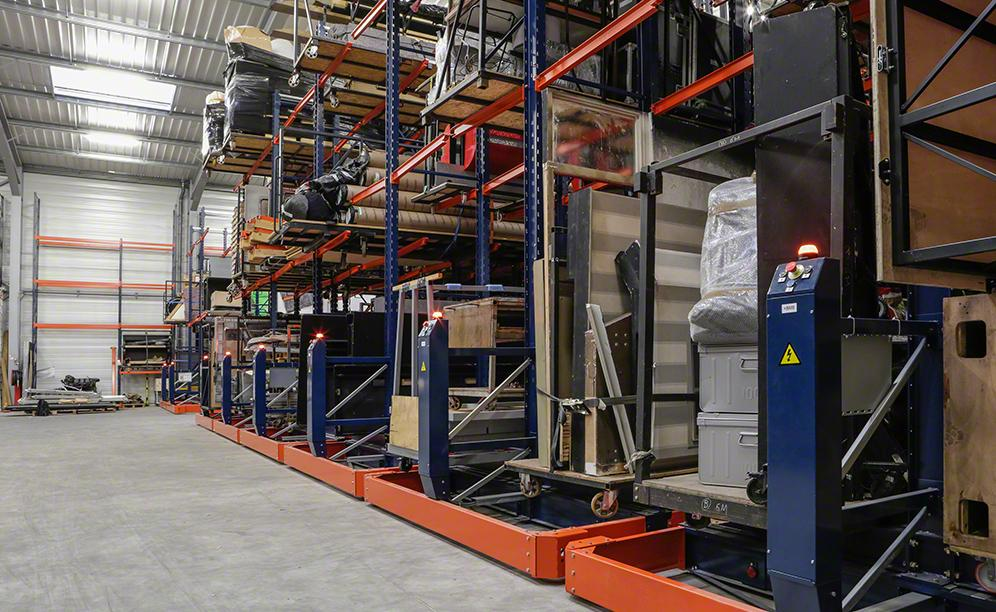 The Artys warehouse in France allocated to housing sound systems
