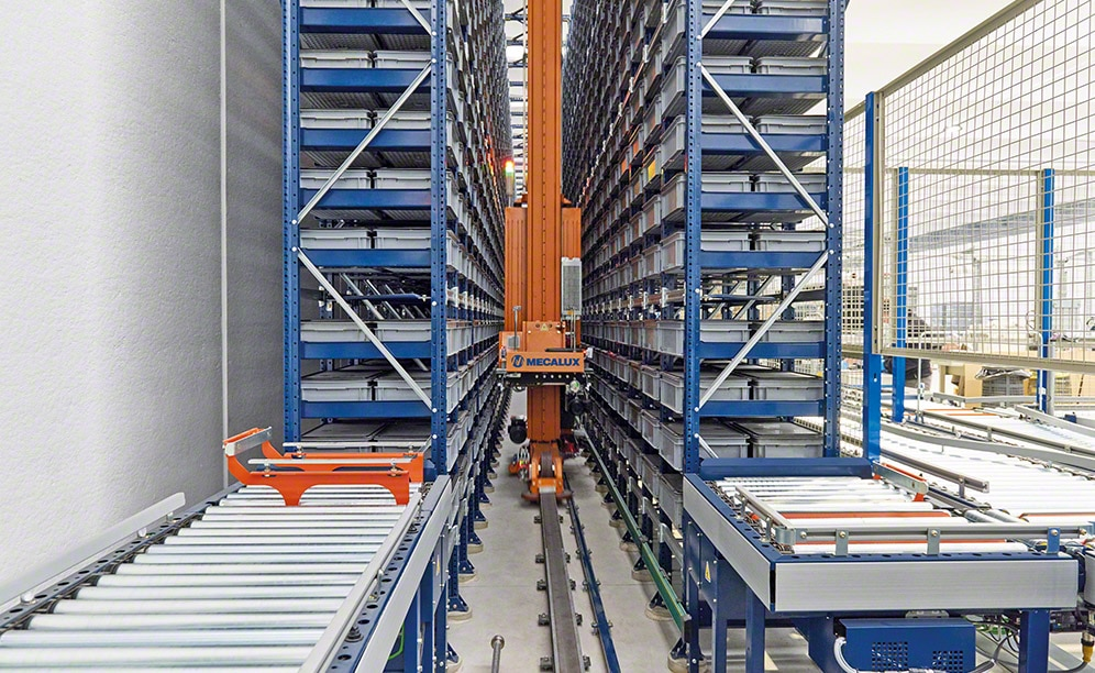 Paolo Astori has installed a new automated miniload warehouse in Italy