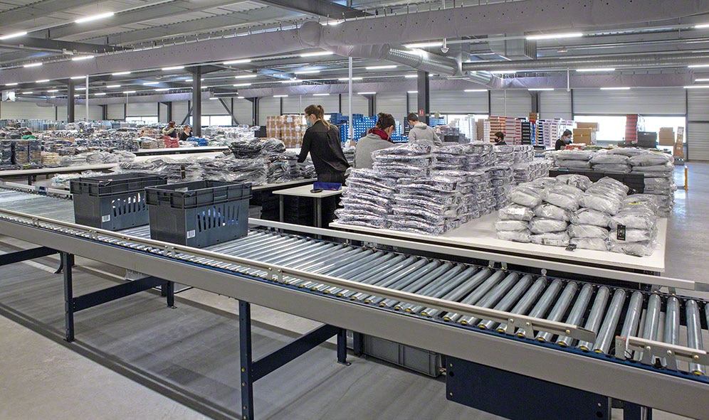 CCV stores 12,000 SKUs and manages 20,000 products a day