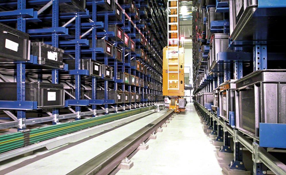 Mecalux has installed an automated warehouse for boxes with a storage capacity of 3,460 boxes