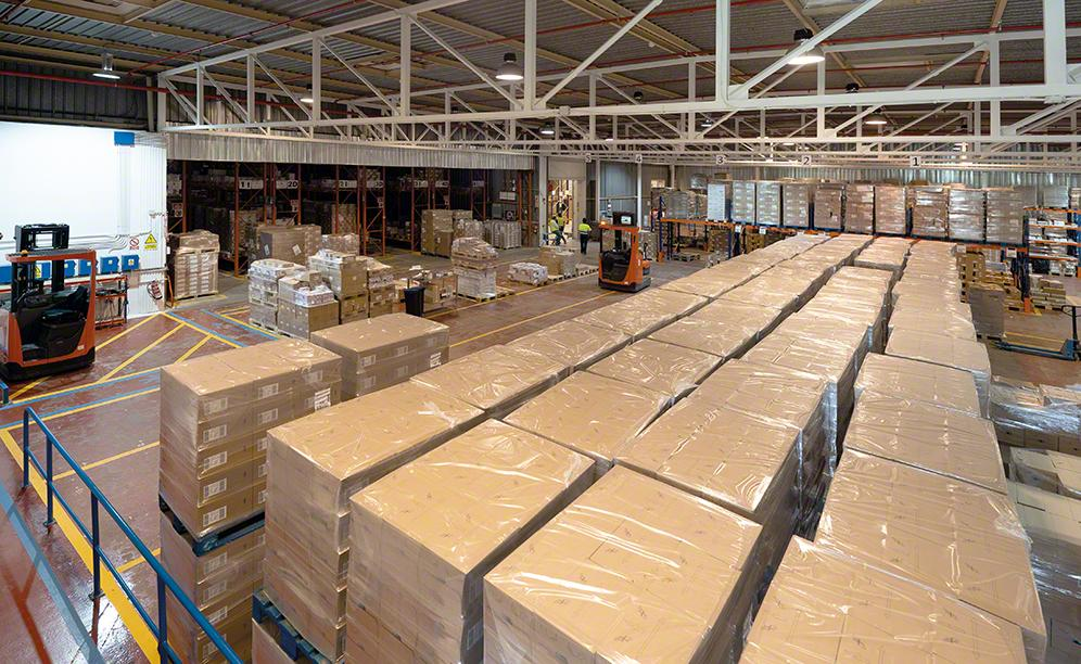 Easy WMS makes the most of Danone's omnichannel warehouse in Spain