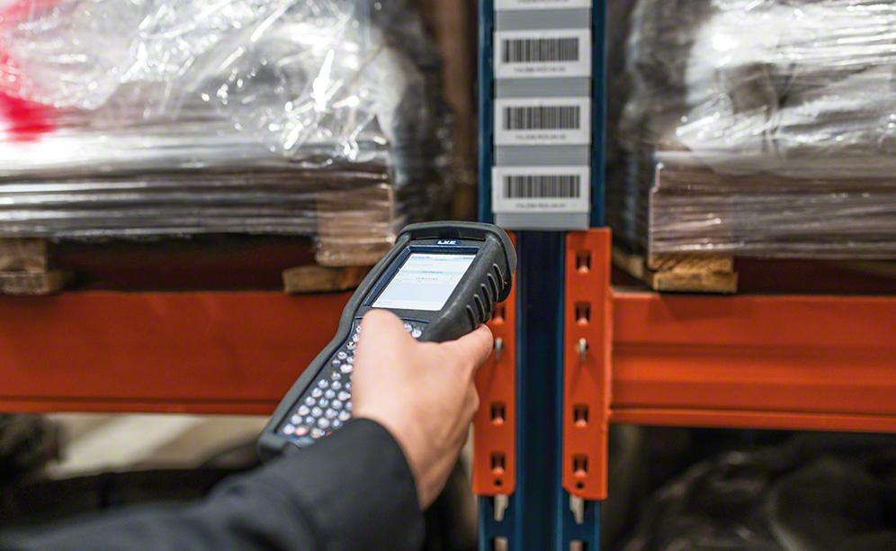 Easy WMS records Faynot inventory in real time