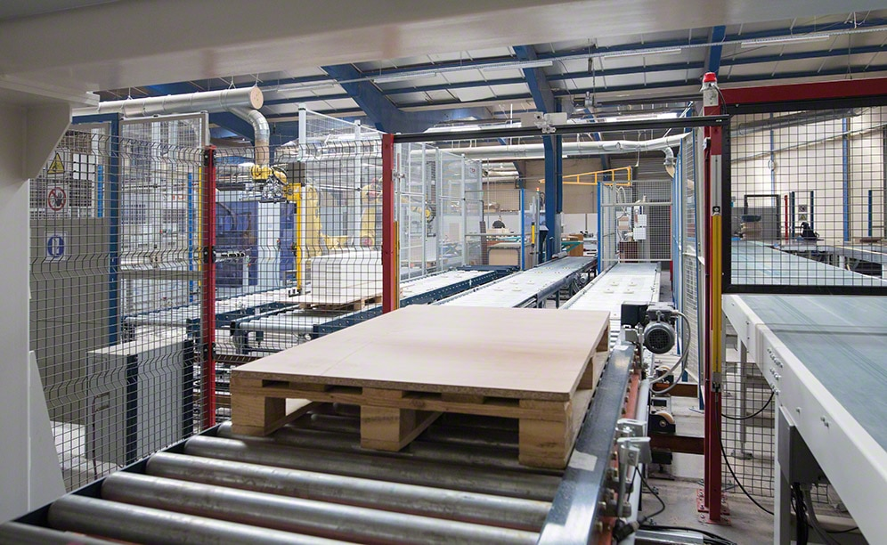 Euréquip, a French furniture maker, goes automated at its production centre