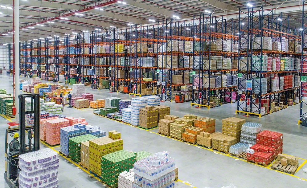 Multi-client CBN Group facility in Argentina features the pallet rack system