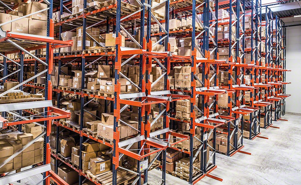 Mecalux has installed pallet racking with a storage capacity for more than 19,600 pallets