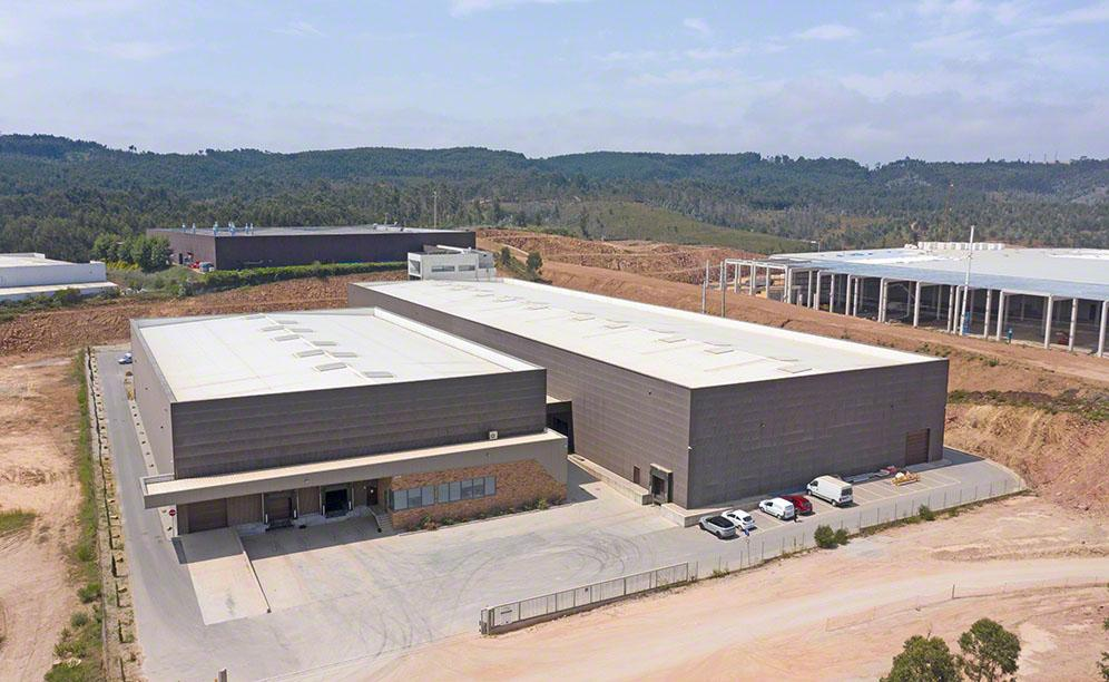Finieco stores paper bags at its new centre in Santo Tirso, Portugal