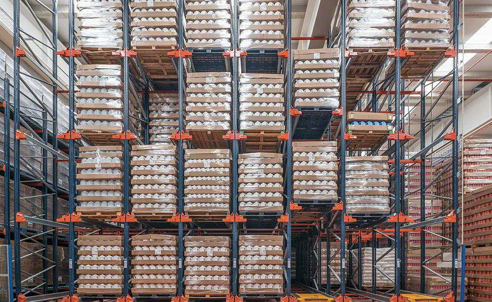 Installation focuses on the storage of Pons Químicas warehouse