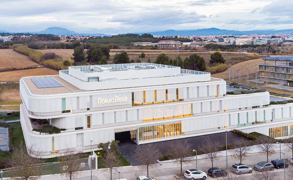 Natura Bissé's new automated warehouse in Barcelona