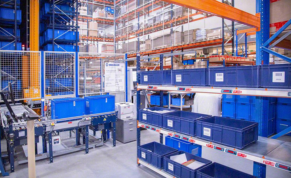 The new automated installation addresses TAL's omnichannel retail strategy