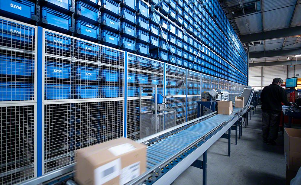 SAM can deliver up to 10,000 SKUs to its customers in just 24 hours