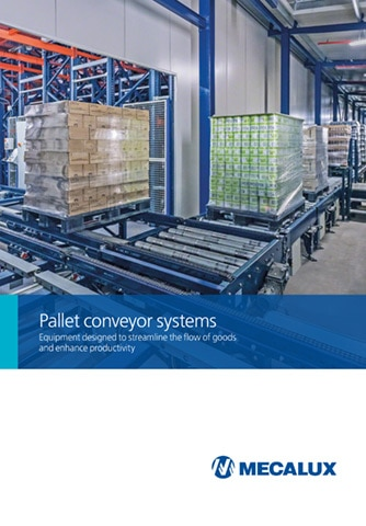 Conveyors for pallets