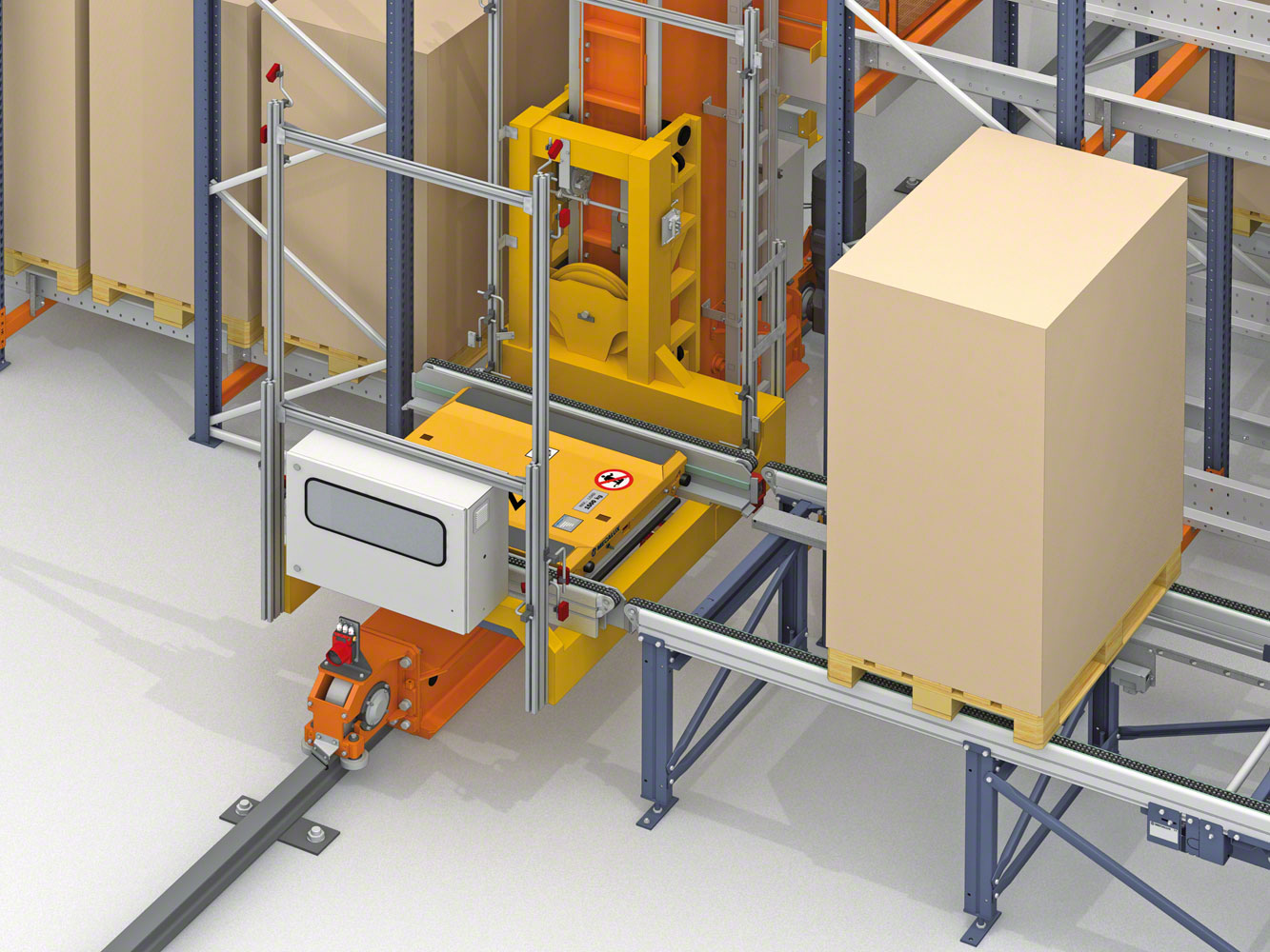 Mecalux will equip two Lanxess warehouses in Germany