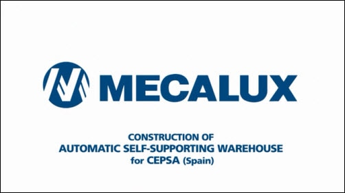 Construction of automatic self-supporting warehouse: CEPSA (Spain)