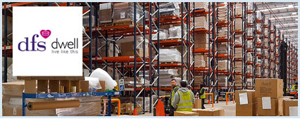 Case study: Pallet racks for furniture and décor items