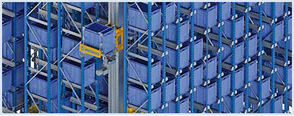 Miniload Stacker Cranes: efficient storage system with a real-time product inventory
