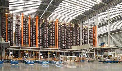 Case studies automated warehouse: Porcelanosa