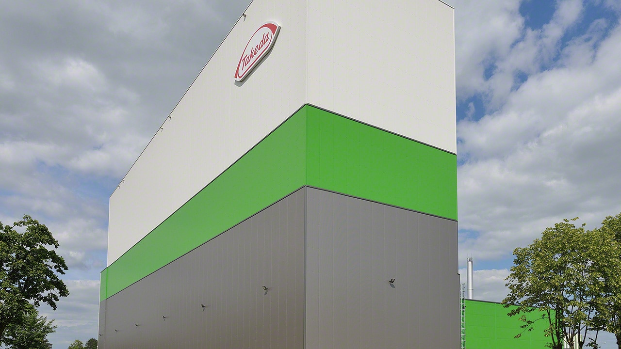 Clad-rack warehouse case study: Takeda
