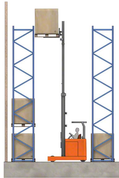 Some forklifts can raise the load above 33'
