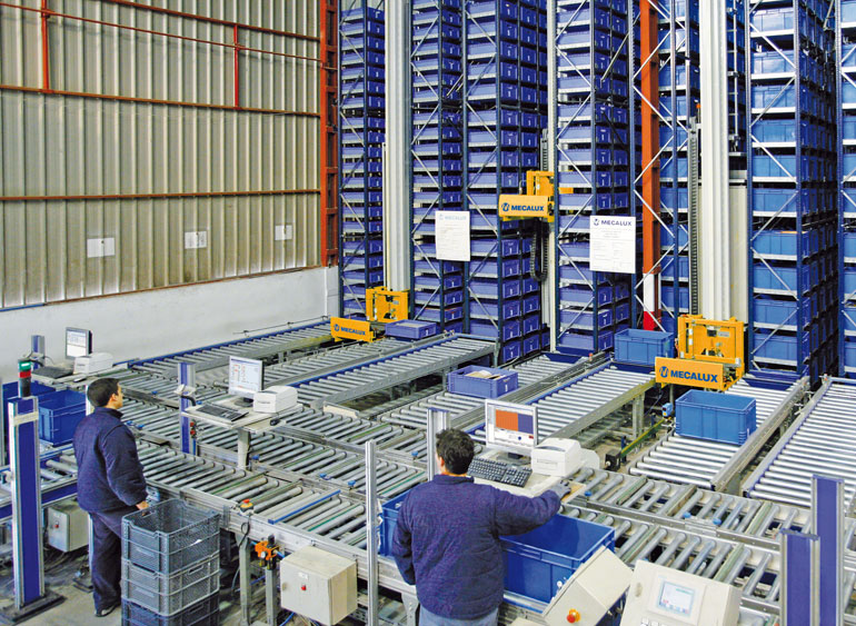 Miniload warehouse for hardware, industrial, DIY and construction supplies
