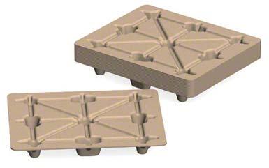 Chipboard pallets