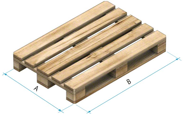 Wooden pallet (type 1)