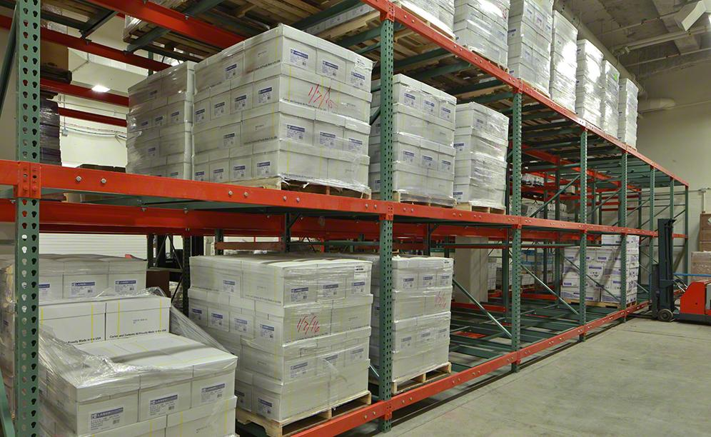 College of DuPage has optimised its warehouse space
