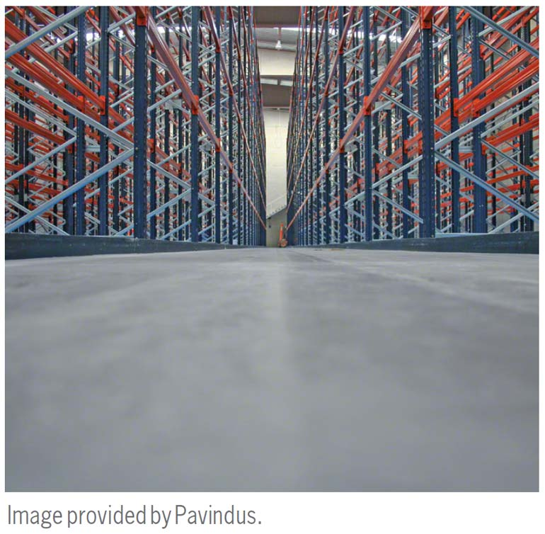 Leveling of the floor is an inherent part of installing racks.