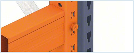 Innovative safety locking mechanism to ensure racking safety