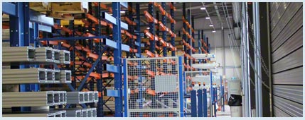 HepcoMotion installs Movirack mobile cantilever racking