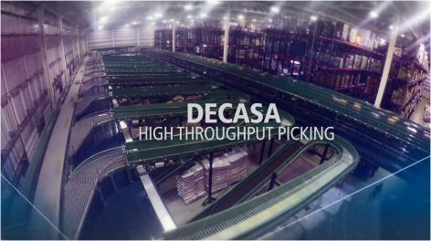 DECASA: High throughput picking and storage