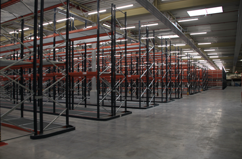 Instalación estanterías de Palets en Alemania