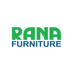 Warehouse with highly-productive narrow aisle storage for Rana Furniture
