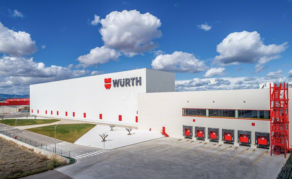 Case studies automated warehouses Würth