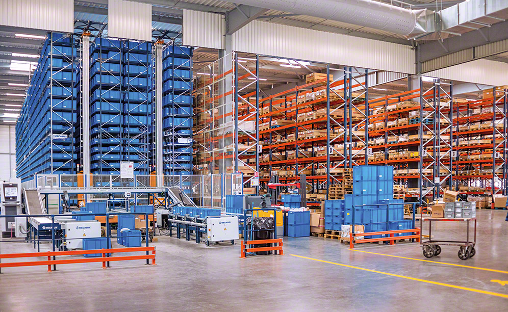 The new Grégoire-Besson distribution centre guarantees fast, accurate order preparation