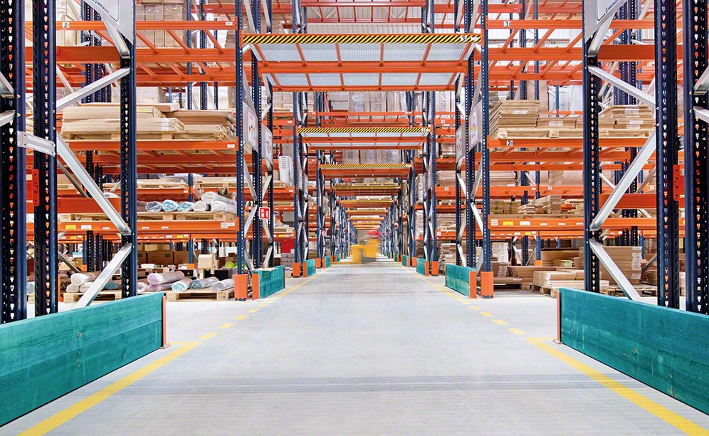 What is the Agata furniture warehouse like in Poland?