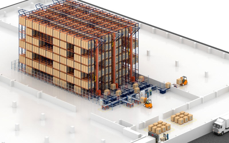 Desobry will open a new automated warehouse with capacity to hold more than 2,500 pallets
