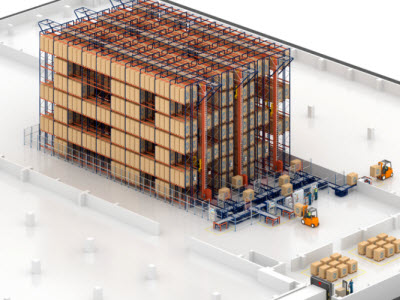 A new automated warehouse for Desobry's biscuits and chocolate bars