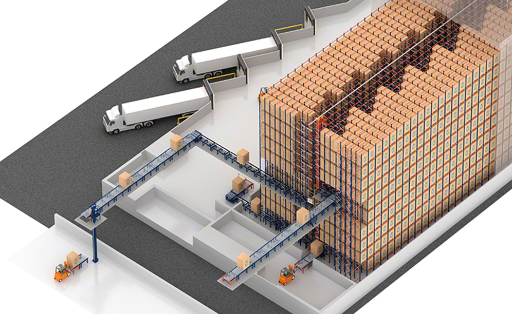 AlzChem will build an automatic Pallet Shuttle run warehouse in Trostberg