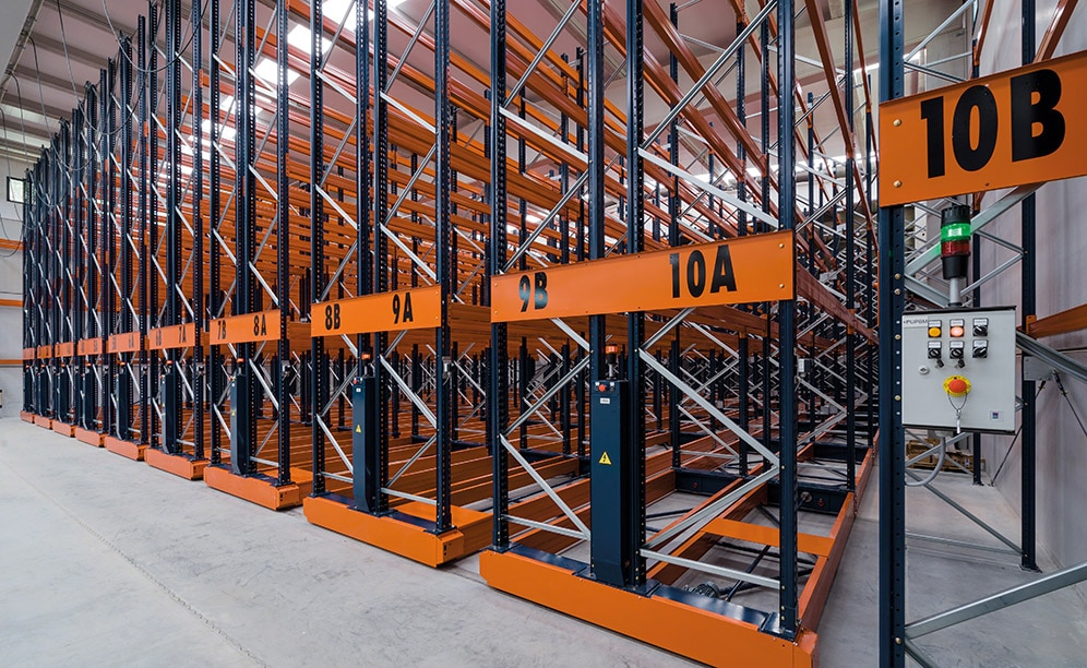Three frozen-storage installations in Montfrisa in Spain with Movirack pallet racks