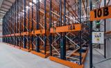 Three frozen-storage installations in Montfrisa in Spain with Movirack pallet racks