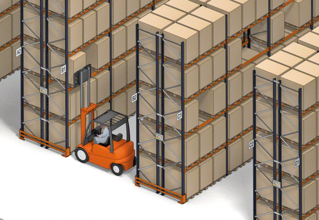 The Bomi Group warehouse will manage more than 15,000 pallets