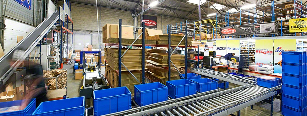 C.D.A.L. Automatic transport between warehouse and dispatch