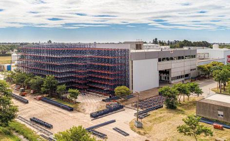 La Piamontesa modernises its new automated warehouse in Argentina