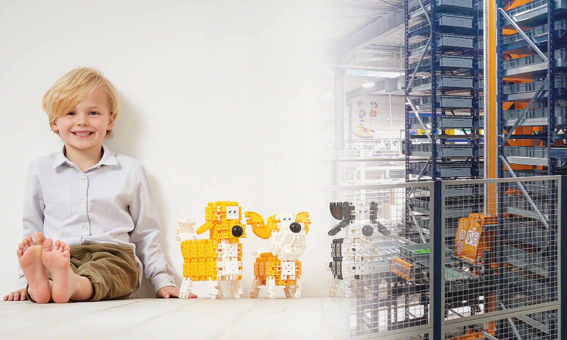 Clics Toys: automated management of 150 parts products annually