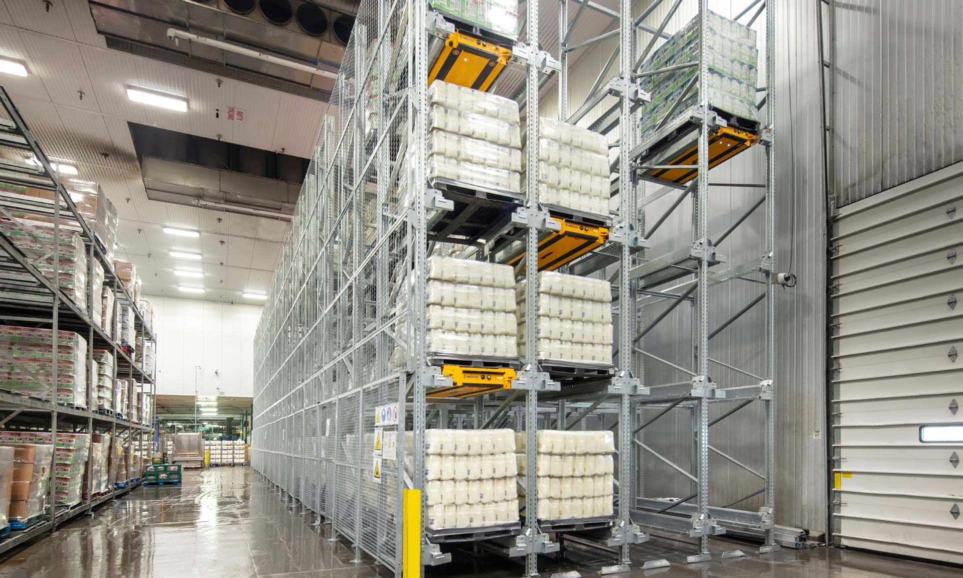 The Pallet Shuttle doubles capacity