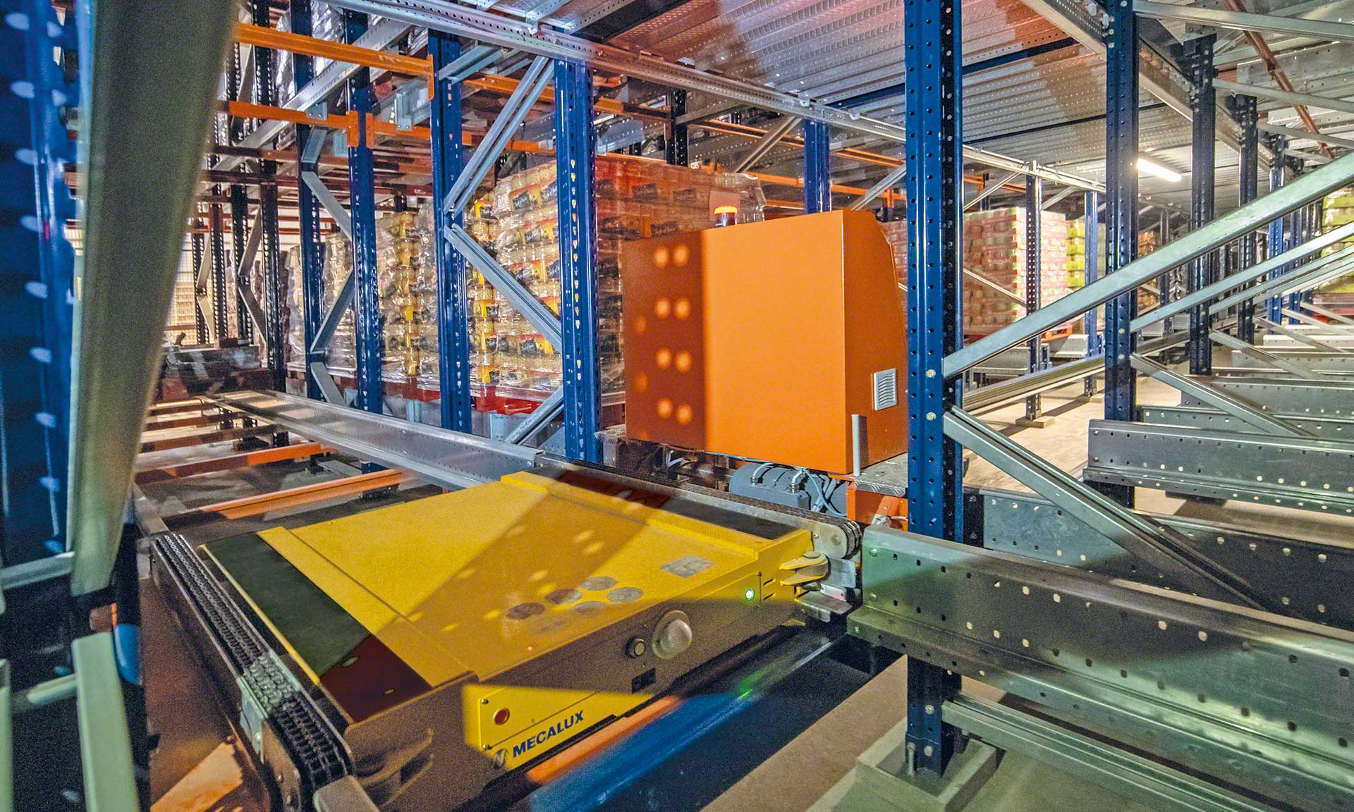 Cistér: expansion of an automated warehouse for canned beans