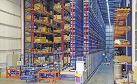 Mecalux has designed a solution that combines an automated warehouse for boxes and pallets and a warehouse with cantilever racking